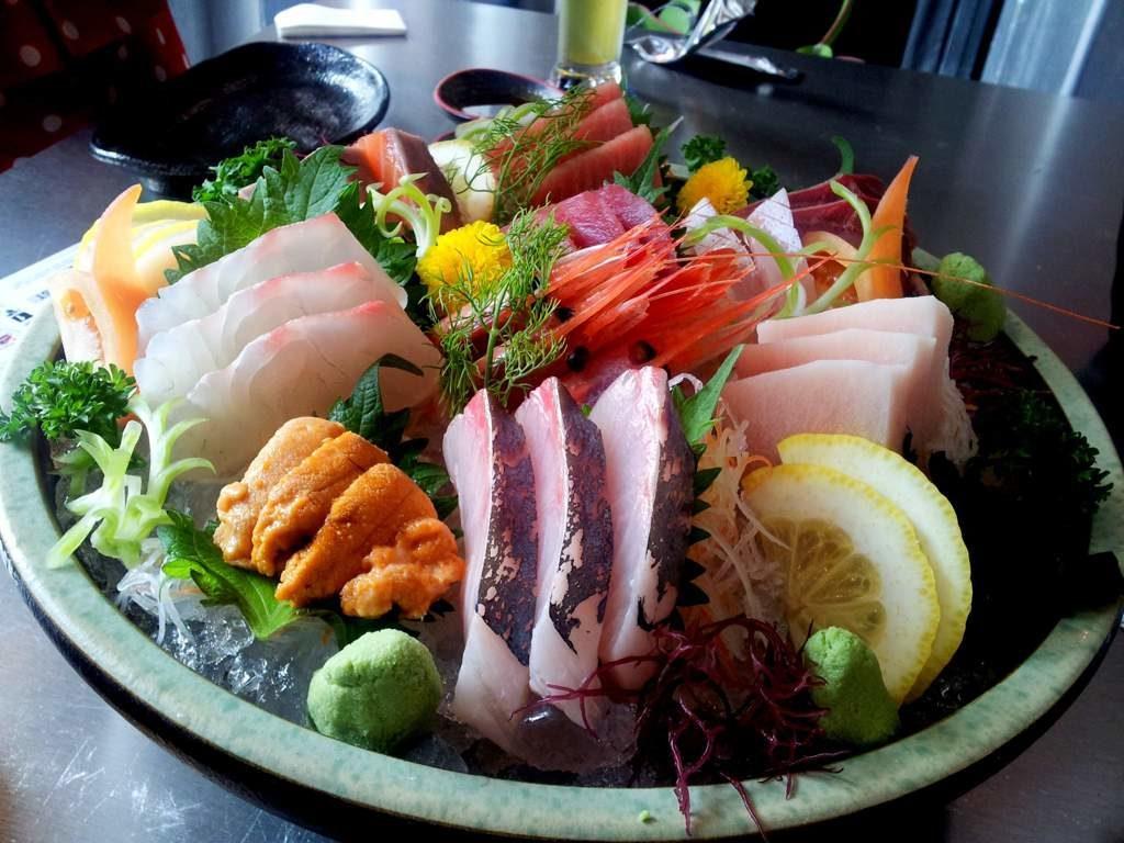 Уличные блюда разных стран лучшие Сашими