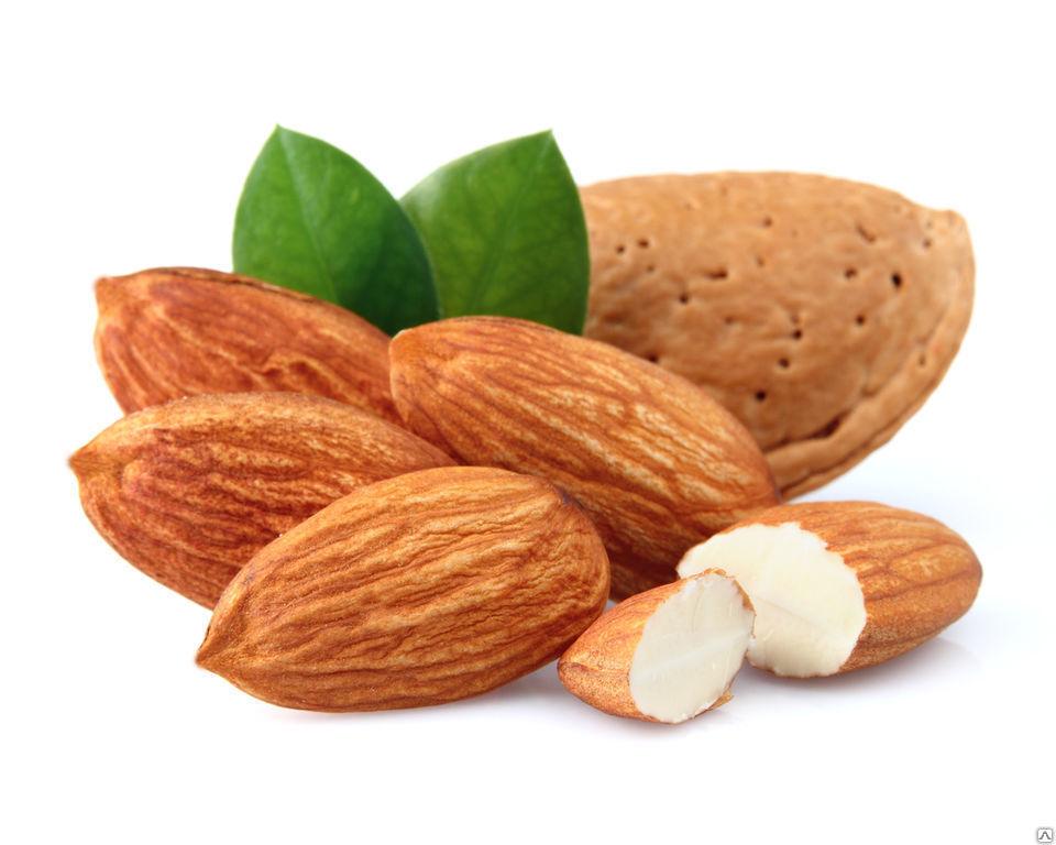 Польза и вред орехов, миндаль