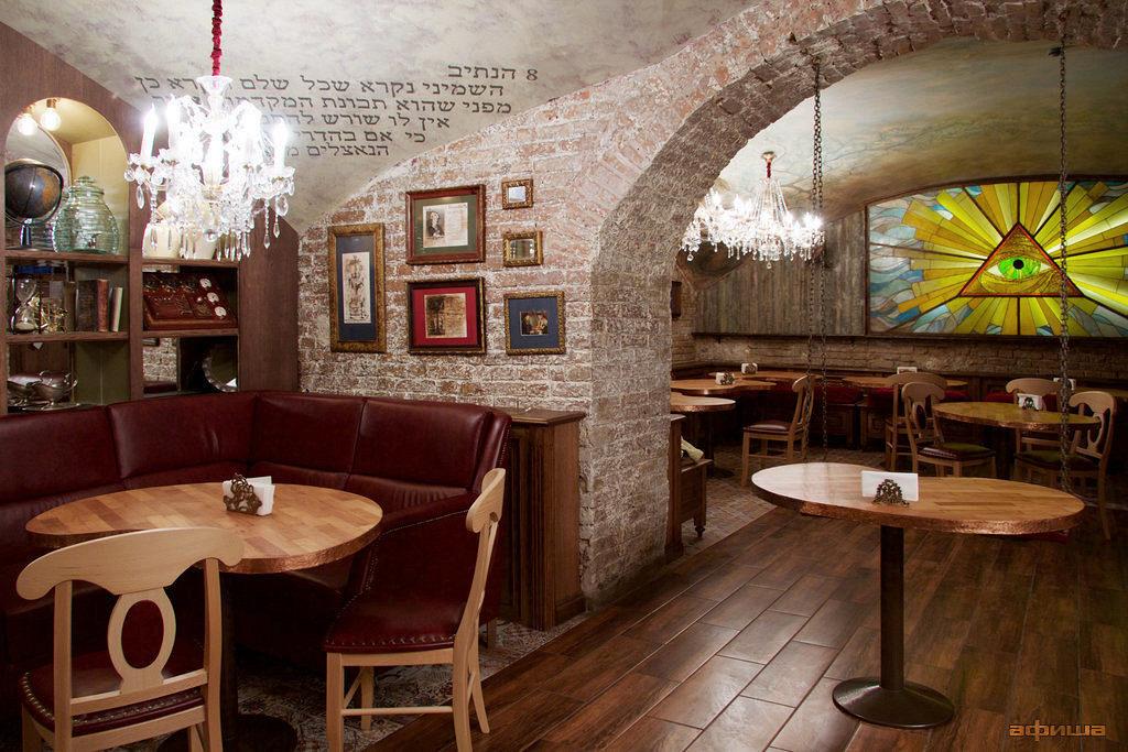 Самые необычные рестораны Москвы Mitzva Bar