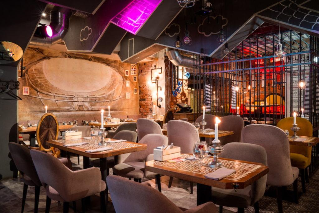 Самые необычные рестораны Москвы Кусочки