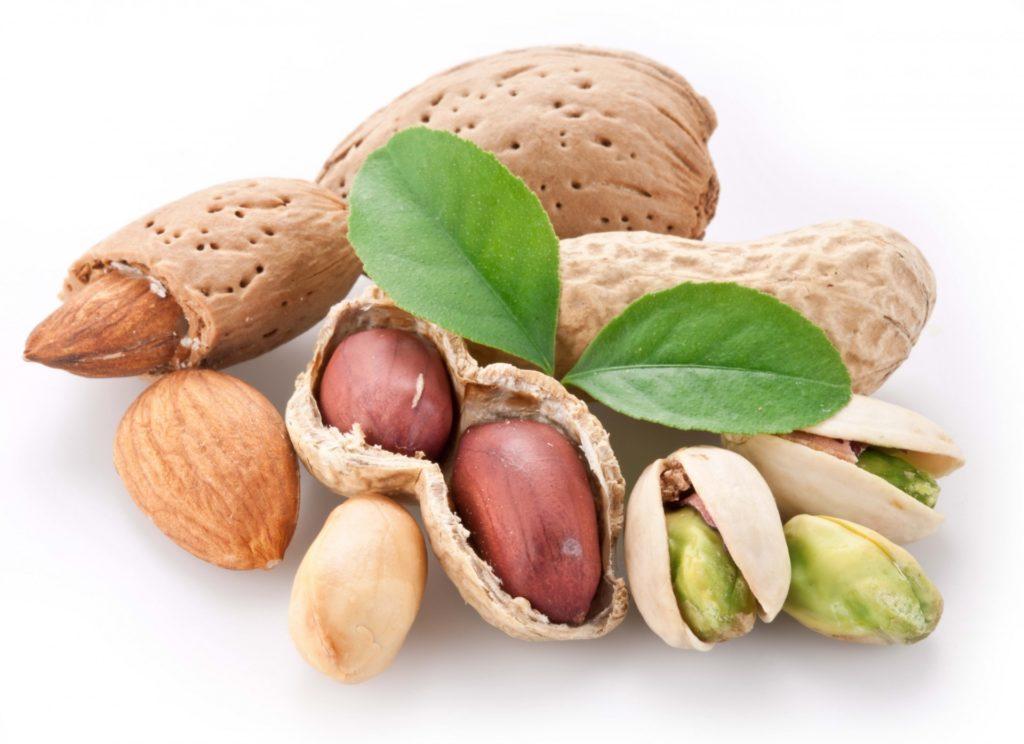 Польза и вред орехов фисташки и арахис