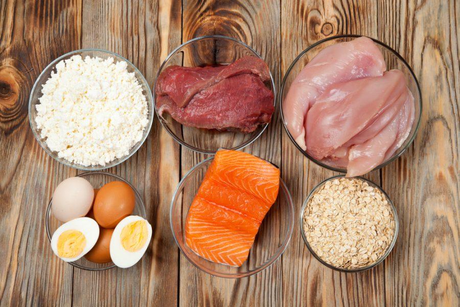 Похудеть на белковой диете меню
