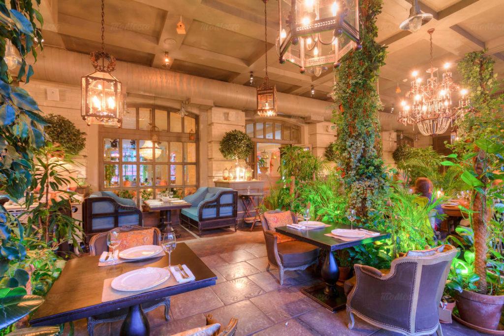 Ресторан The Сад рейтинг лучших ресторанов Москвы