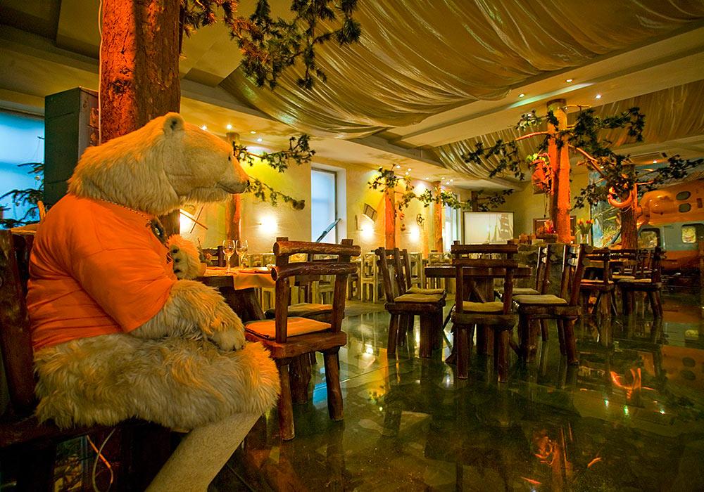 Самые необычные рестораны Москвы Экспедиция