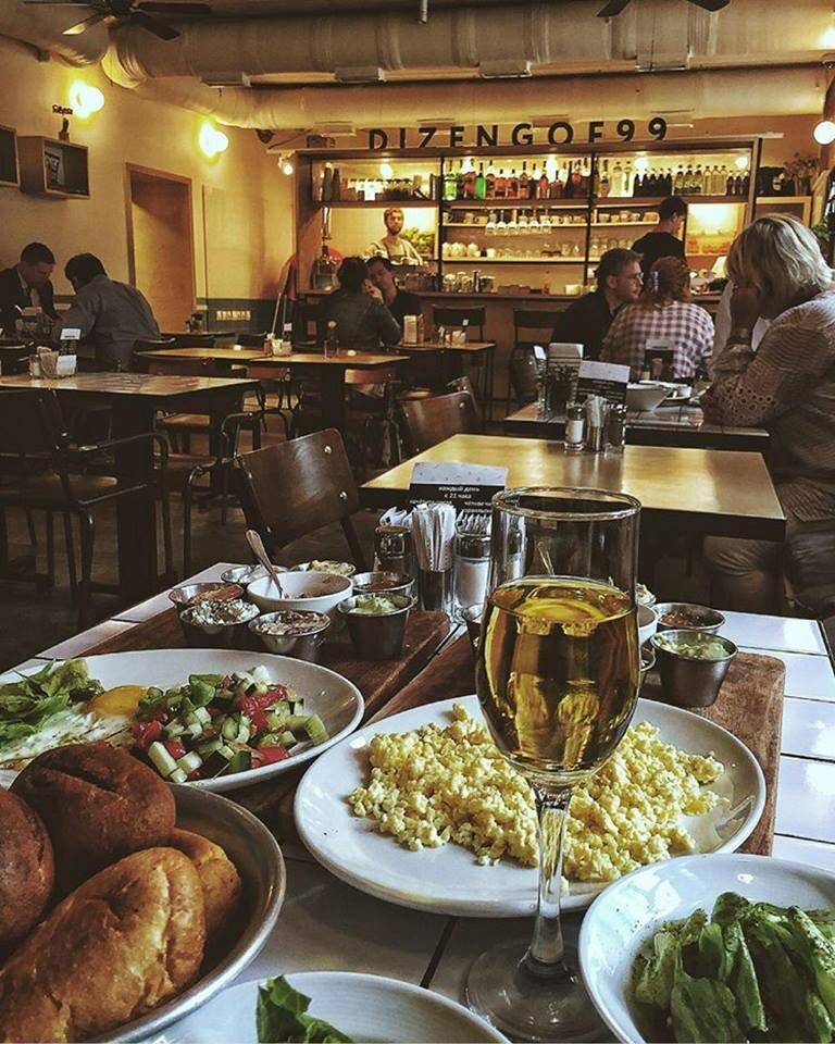 Ресторан Dizengof99 рейтинг лучших ресторанов Москвы