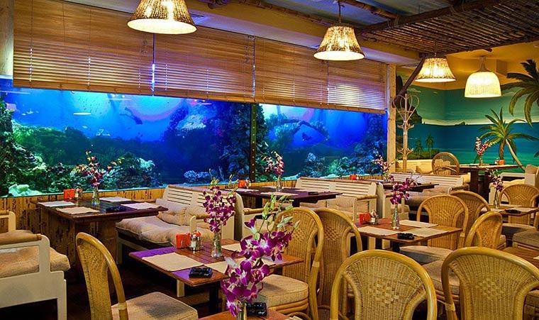 Самые необычные рестораны Москвы Kon-Tiki