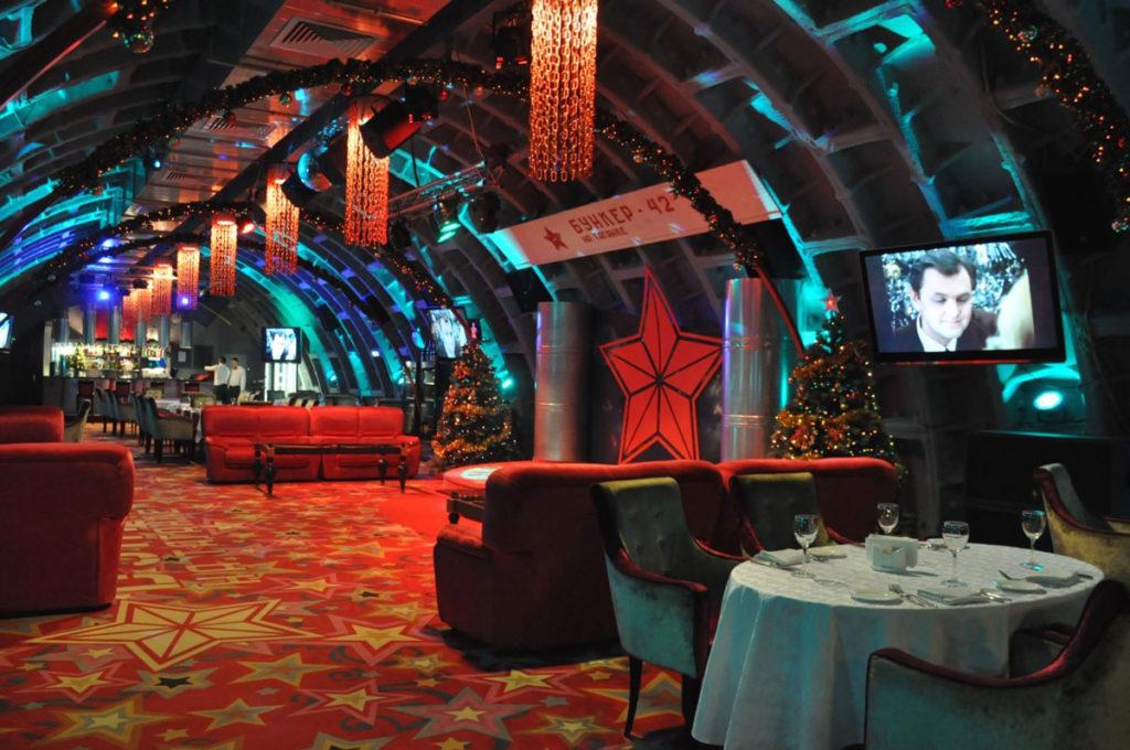 Самые необычные рестораны Москвы Бункер-42