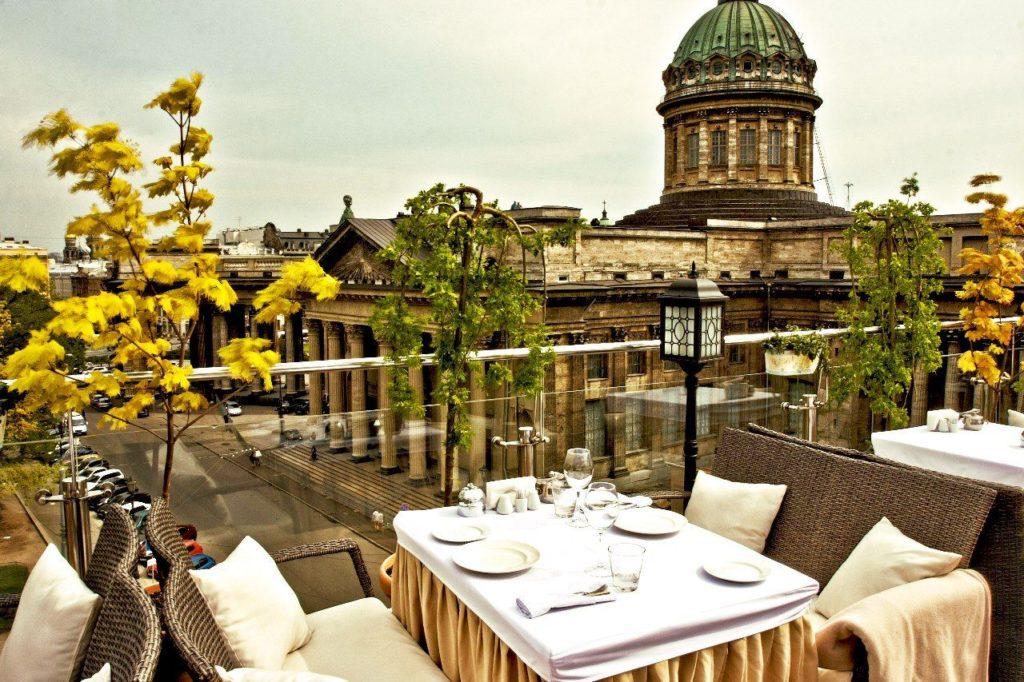 Ресторан «Терраса» Лучшие рестораны Санкт-Петербурга