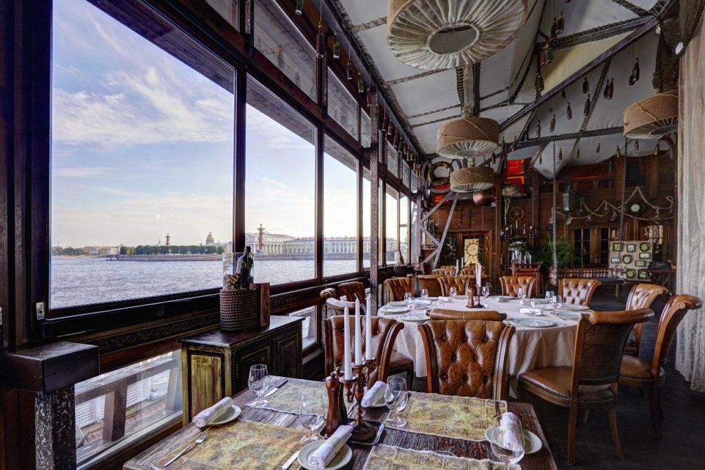 Ресторан «Летучий Голландец» Лучшие рестораны Санкт-Петербурга