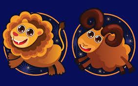 Совместимость знаков зодиака в любви Овен и Лев