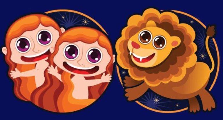 Совместимость знаков зодиака в любви Близнецы и Лев