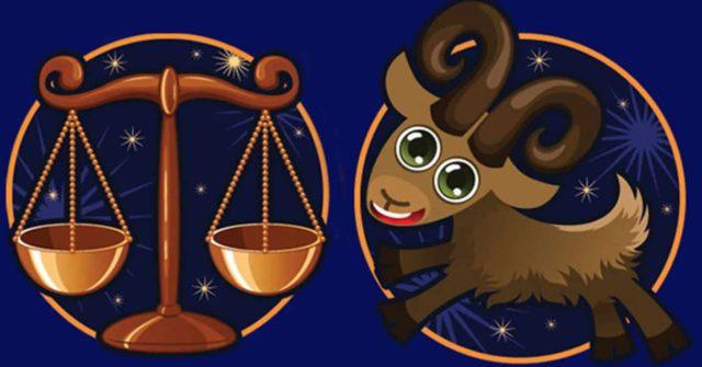 Совместимость знаков зодиака в любви Весы и Козерог