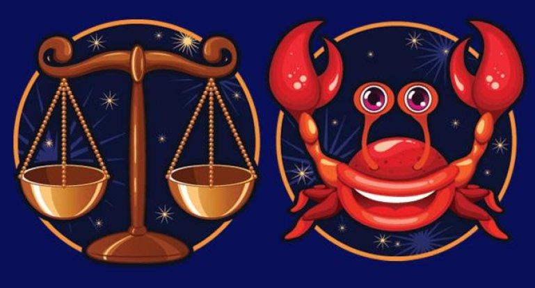 Совместимость знаков зодиака в любви Рак и Весы