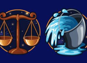Совместимость знаков зодиака в любви Весы и Водолей