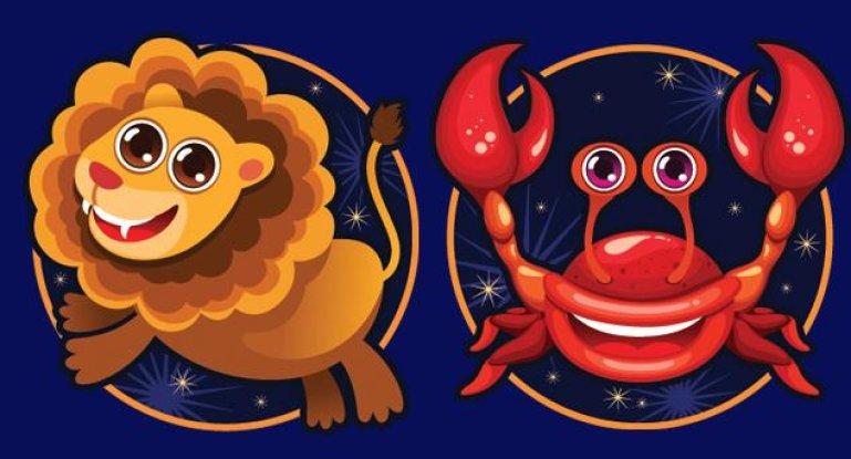 Совместимость знаков зодиака в любви Рак и Лев