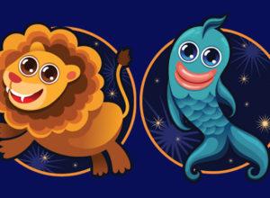 овместимость знаков зодиака в любви Лев и Рыбы