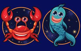 Совместимость знаков зодиака в любви Рак и Рыба