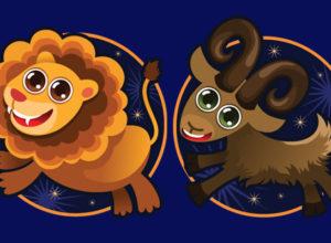 Совместимость знаков зодиака в любви Лев и Козерог