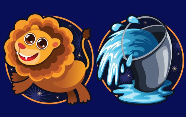 Совместимость знаков зодиака в любви Лев и Водолей