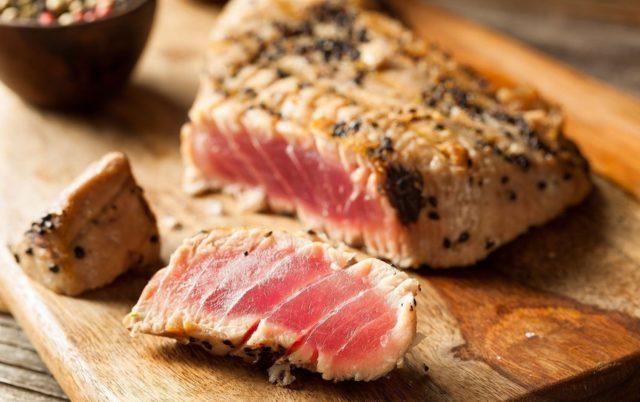 Рецепт приготовления тунца