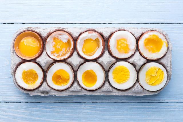 Сколько варить яйца вкрутую