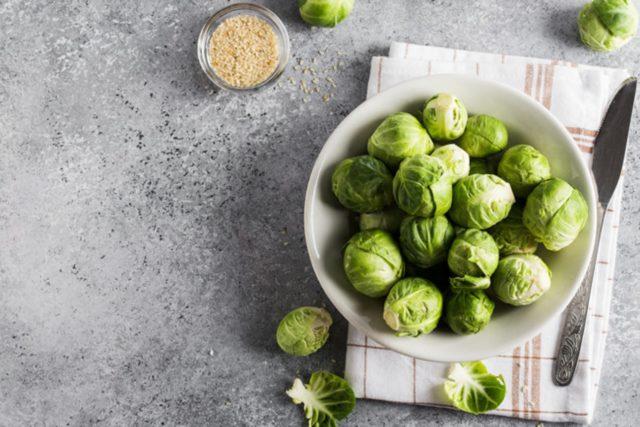 Сколько и как варить брюссельскую капусту