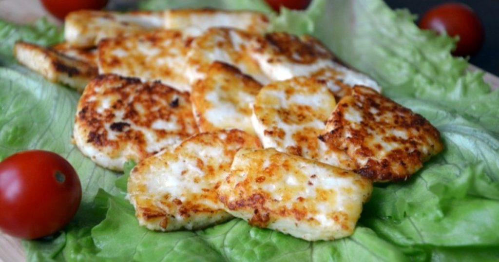 Запеченный Адыгейский сыр