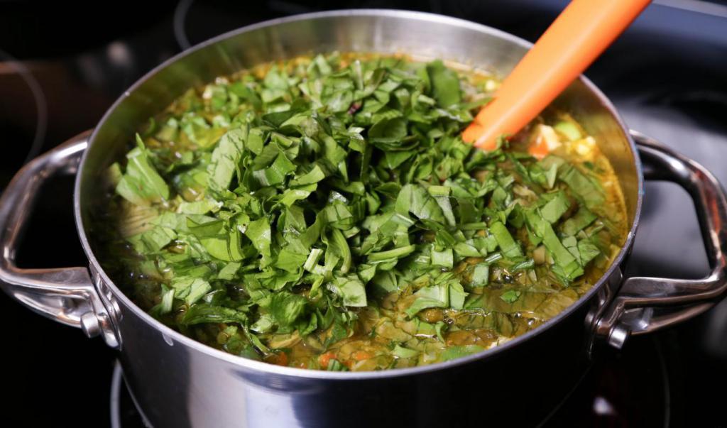 Варить суп из щавеля