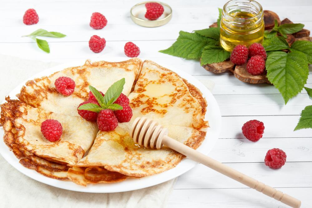 Рецепты тонких и вкусных блинов
