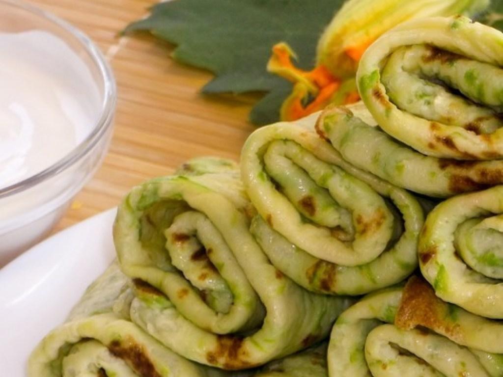 Блюда из молодых кабачков